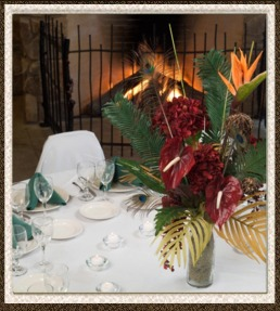 The Zambezi River Lodge set for Private Party