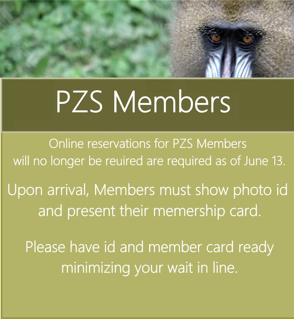 NEW Member Reservations